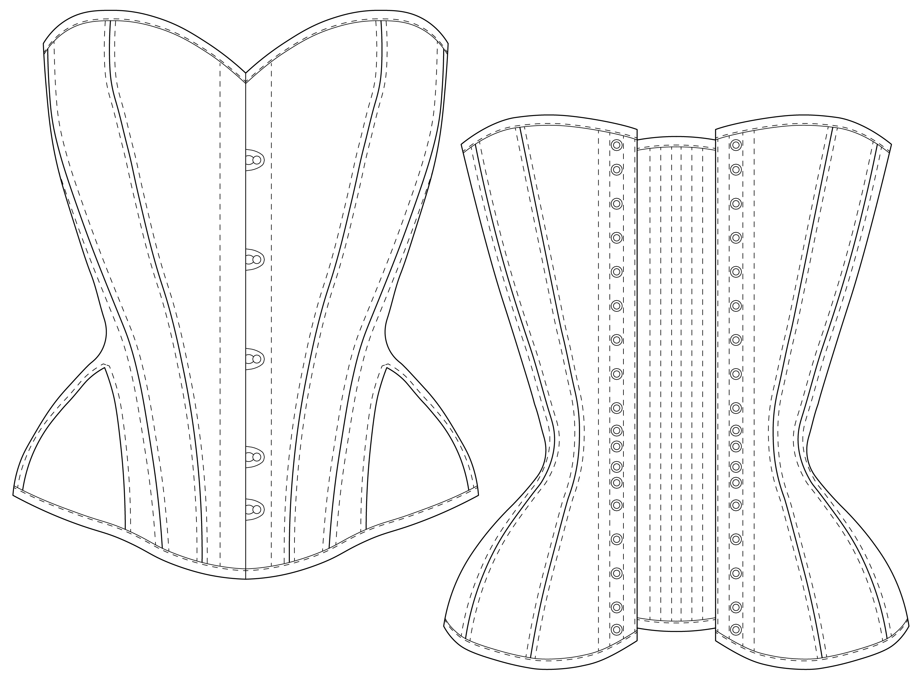 "5751e69147 ... mock up or a toile before using ""good"" fabric to test the patterns size  and fit. I wish you the best of luck in tackling this overbust corset  project!"