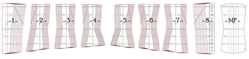 Remake Anna pattern pieces diagram 800