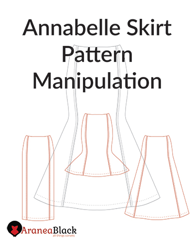 How to change length on a corset pattern