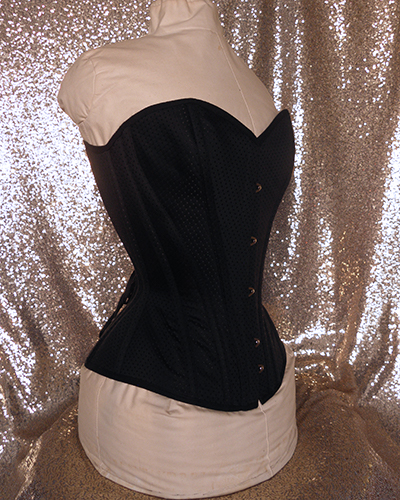 Dolored overbust corset front side