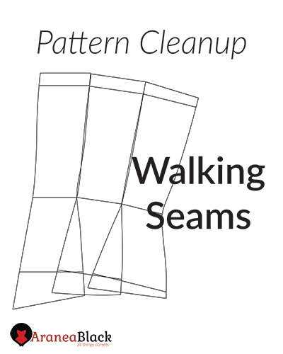 Intro in to pattern cleanup walking seams
