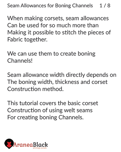 Intro in to the importance of choosing the right seam allowance width