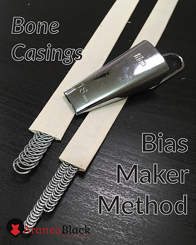 Front page for the tutorial on how to make boning cases using a bias maker tool