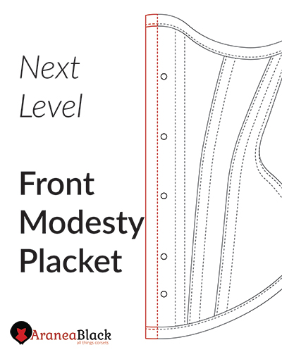 tutorial ON HOW TO ADD A FRONT MODESTY PLACKET