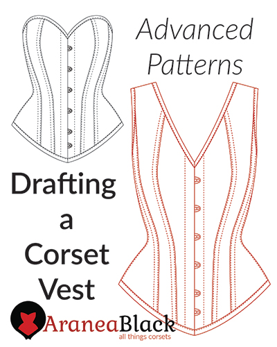 tutorial on how to Drafting a Corset Vest Pattern