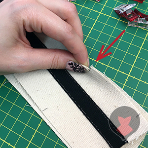 Pairing and matching corset mock up pattern pieces